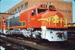 ATSF 100 FP45 at Argentine Shops - 1967