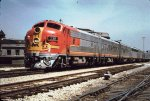 ATSF 338 F7A with 4 B units - 1970
