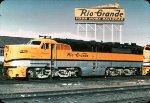 DRGW 6001 - PA1 at Denver - 1966