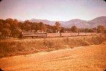 N&W passenger steam circa 1950 - probably in Virginia