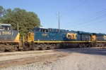 CSX 5241 on Q124 heading north