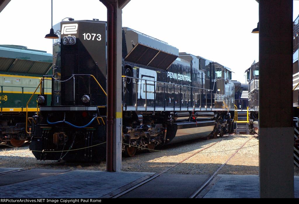 NS 1073, EMD SD70ACe, Penn Central Heritage Unit