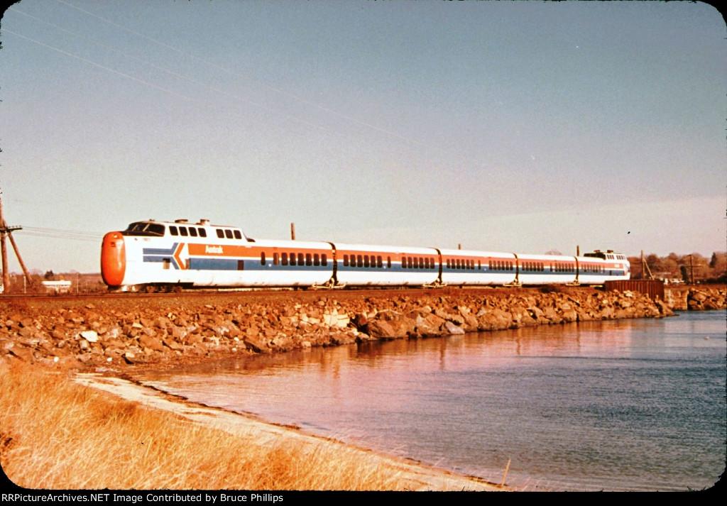 Amtrak Yankee Clipper Turbotrain - 1974
