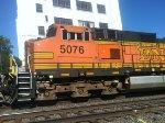 BNSF C44-9W 5076