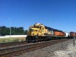 BNSF GP39-2 2942 & BNSF ES44DC 7593