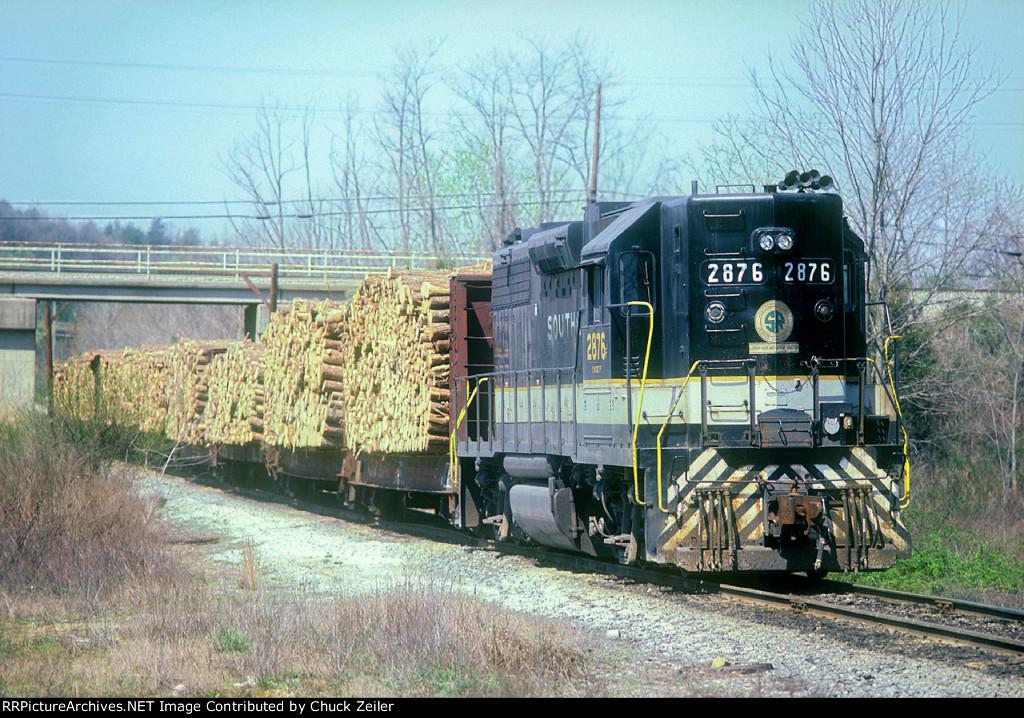 SOU GP38AC 2876