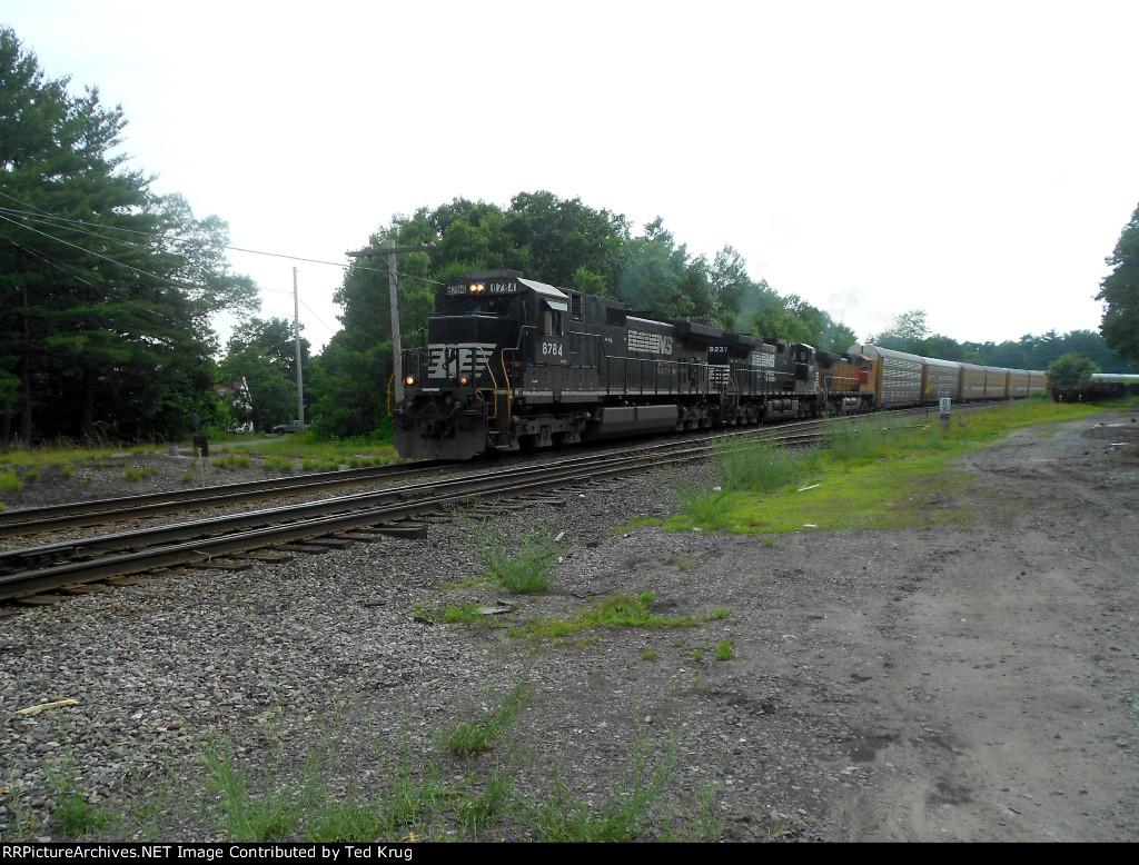 NS 8784, NS 9237 & BNSF 5469