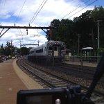 NJT 6631 arrives Denville