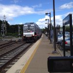 NJT 1001 arriving Denville