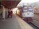 Amtrak Regional arriving Trenton