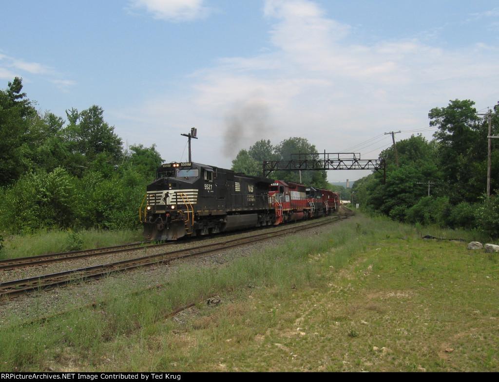 NS 9527, MEC 617, MEC 314, MEC 614 & BM 332