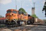 Coal empties roll east