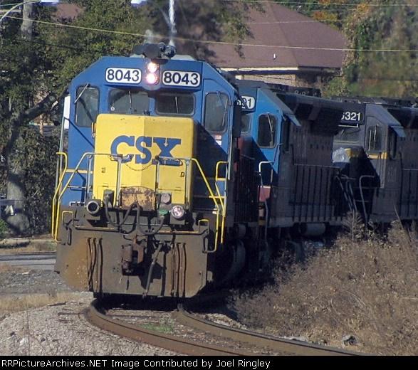 CSX 8043