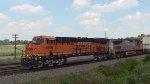 BNSF 6695 & 667