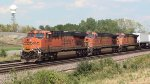 BNSF 6738, 5344 & 672
