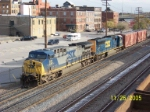 CSX 317 leads southbound