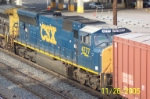 Closeup of CSX 4777
