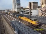 CSX detour train heads'm north
