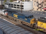 Close up of CSX 7926