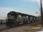 NS train 219 with 4 GP60'S and 2 KCS motors