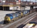 CSX coal train U227 heads south