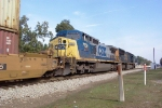 CSX 7759 heading north after leaving the intermodal yard