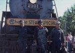 Chessie Steam Special Crew, Cleveland, OH June 77
