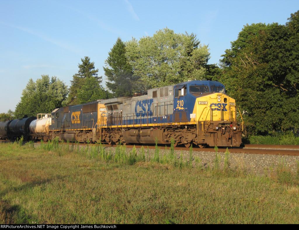 CSX 210 and CSX 8706