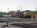 CSX 795 & 741 pull out the Coach Lead for headroom before doubling Q334 together