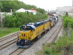 2005, 2008 & 3003 leads Z151 away from Wyoming Yard