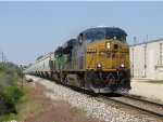 CSX 5480 & HLCX 7025 accelerate out of the sag as they head east with G404-22