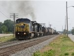 With the HLCX unit smoking, Q327-15 picks up speed as starts west for Chicago