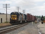 With the Waverly pick up in tow, D700-21 returns east as it enters Track 2