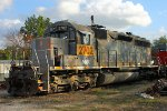MNA 2702 - EMD SD40M-2 at Harrisonville, MO