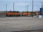 BNSF engine depot