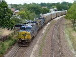 CSX 7369 From the Clay Ave. Overpass