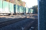 csx maintainer blue flaged track in front of q271