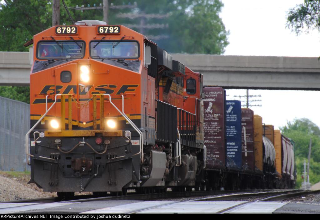 BNSF 6792