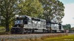 NS 3209 & 3456 on the way to the inland port in Greer SC