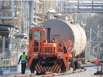 Action: moving tank cars @ a local chemical company