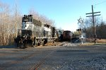 Norfolk Southern on the Cape May Branch