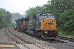 CSX Q418 Departs CP HATCH
