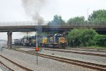 Smoke Show From CSX Q418