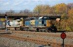 CSX Q418 Departs Pavonia Yard