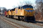 CSX Q418 With Union Pacific Power