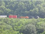 BNSF around horseshoe curve