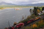 Union Pacific/Canadian Pacific  eastbound at Cascade Locks, OR