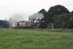 957 Clear 131 Main 1 East to Enola Yard W/ NKP 765 & NS/NKP Heritage Unit 8100