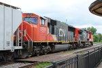 CN 2187 & 5709 eastbound