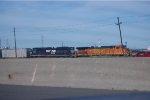 BNSF 5175 & NS 2694